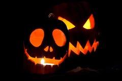 Jack-o-lanternas Imagem de Stock Royalty Free