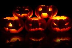 Jack-O-Lanternes Photo libre de droits