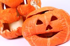 Jack o'lanterns Royalty Free Stock Photography