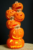 Jack O Lanterns Stock Photo