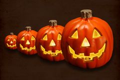 Jack-O-Lanterns Royalty Free Stock Image