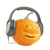 Jack-o'-lanterns halloween pumpkin head Stock Photos