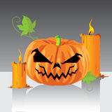 Jack O Lanterns & Halloween Vector. Jack O Lanterns & Halloween  Vector Background Stock Photography
