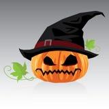 Jack O Lanterns & Halloween Vector. Background Stock Photography