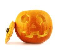Jack-o'-lanterns pumpkin isolated Royalty Free Stock Images