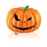 Jack O Lanterns Vector Cartoon. Background Royalty Free Stock Photos
