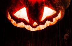 Jack-o-linterna Imagen de archivo libre de regalías