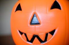 Jack-o-linterna, calabaza de Halloween Imagen de archivo libre de regalías