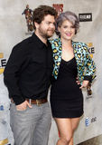 Jack Osbourne and Kelly Osbourne. At the 2010 Spike TV's Guys Choice Awards held at the Sony Pictures Studios in Culver City, USA on June 5, 2010 Royalty Free Stock Images