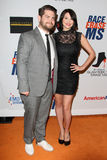 Jack Osbourne, Lisa Stelly 19th Annual Race to Erase MS gala Royalty Free Stock Image