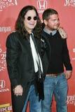 Jack Osbourne, Ozzy Osbourne Royalty Free Stock Images