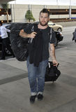 Jack Osbourne is seen at LAX Stock Images