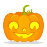 Jack Pumpkin mignon Images libres de droits