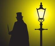 Jack The Ripper In The-Licht Grunged stockfotografie