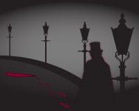 Jack The Ripper On The-Straße Lizenzfreies Stockbild