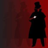 Jack The Ripper tło Zdjęcie Stock