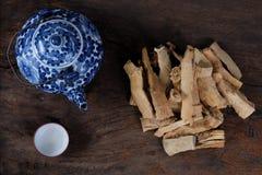 Jack Roots Tea lungo Fotografia Stock