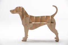 Jack Russell het model van de hond Royalty-vrije Stock Foto