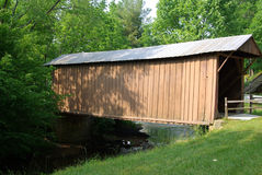 Jack's Creek Covered Bridge Stock Photography