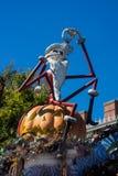 Jack Skellington Haunted Mansion Halloween Disneyland Stock Image