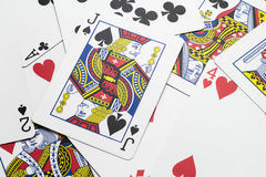 Jack of Spades and Friends Royalty Free Stock Images