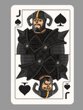 Jack spades playing card Royalty Free Stock Photos