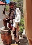 Jack Sparrow παρόμοιος στοκ εικόνες