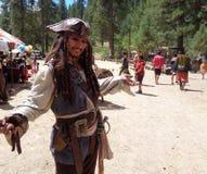 Jack Sparrow παρόμοιος στοκ φωτογραφία με δικαίωμα ελεύθερης χρήσης