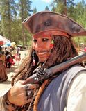 Jack Sparrow LookAlike Stock Images