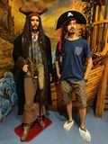 Jack Sparrow piratkopierar arkivbilder