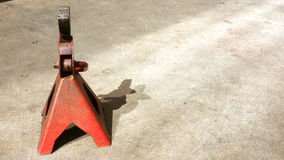 Jack stands tools Stock Image