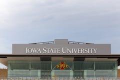 Jack Trice Football Stadium en la universidad de estado de Iowa imágenes de archivo libres de regalías