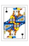 Jack van clubs stock illustratie