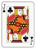 Jack van clubs Royalty-vrije Stock Foto's