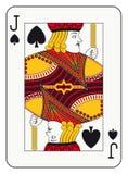 Jack van spades Stock Afbeelding