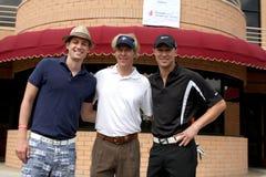 Jack Wagner, Kyle Lowder, Zack Conroy Immagine Stock