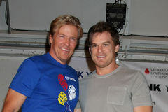 Jack Wagner, Michael C. Hall Stock Photo
