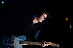 Jack White in Concert Royalty Free Stock Photo