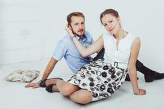 Jack y Jill Fotografía de archivo