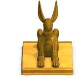 Jackal statue Stock Images