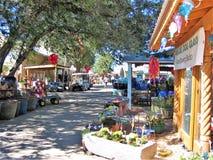 Jackalope Market in Santa Fe, New Mexico stock image