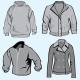 Jacke, Hoodie, Mäntel oder Sweatshirtschablone