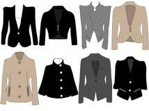 Jacken der Frauen Lizenzfreie Stockbilder