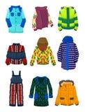 Jacken für Jungen Lizenzfreies Stockfoto