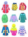 Jacken für Mädchen Stockbilder