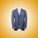 Jacket against the gradient background. The jacket against the gradient background Royalty Free Stock Photo