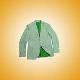 Jacket against the gradient background Royalty Free Stock Images