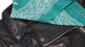 Jacket and bandana Royalty Free Stock Image
