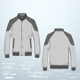 Jacket with buttons Stock Photography