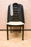 Jacket and chair Royalty Free Stock Photo